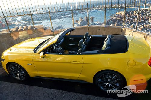 Ford celebrates 50 years of Mustang
