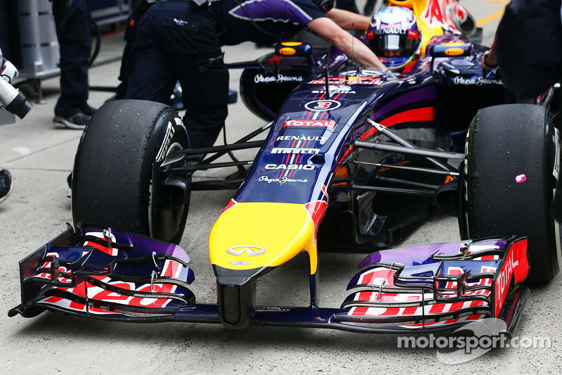 Daniel Ricciardo, Red Bull Racing RB10 front wing