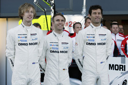 Brendon Hartley, Timo Bernhard, Mark Webber