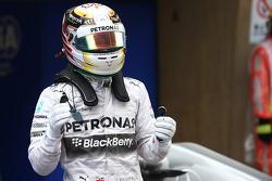 pole for Lewis Hamilton, Mercedes AMG F1