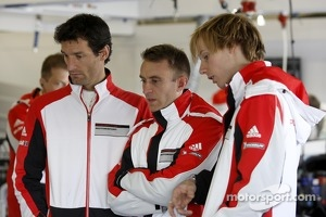 Mark Webber, Timo Bernhard, Brandon Hartley