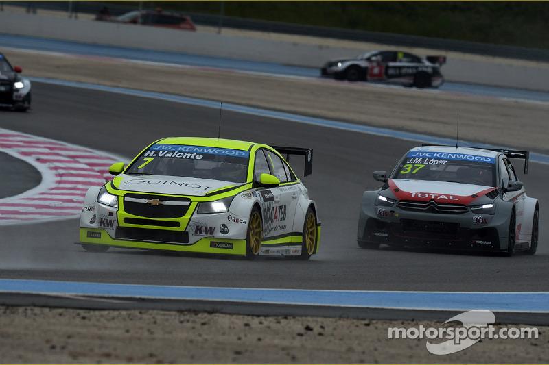 Hugo Valente, Chevrolet RML Cruze TC1, Campos Racing ve Jose Maria Lopez, Citroën C-Elysee WTCC, Cit