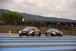 Gianni Morbidelli, Chevrolet RML Cruze TC1, ALL-INKL_COM Munnich Motorsport and René Münnich, Chevrolet RML Cruze TC1, ALL-INKL_COM Munnich Motorsport