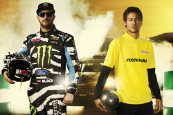 Ken Block e Neymar Jr. in Footkhana
