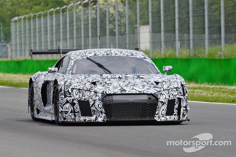 Foto spia della probabile Audi R8 GT / GT+ 2016