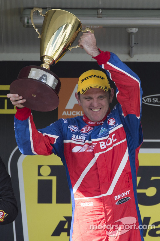 Vencedor da corrida Jason Bright, BOC Racing