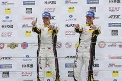 Race winners Nicky Catsburg, Dirk Adorf, BMW Sports Trophy Team Marc VDS, BMW Z4 GT3