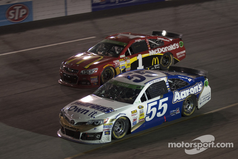 Brian Vickers and Jamie McMurray