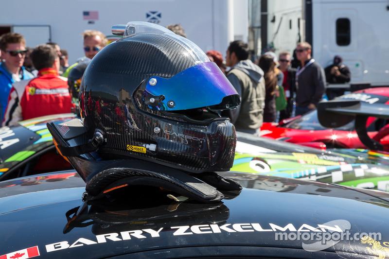 Helmet of Barry Zekelman