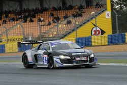 #42 Saintéloc Racing Audi R8 LMS Ultra: David Hallyday, Grégory Guilvert