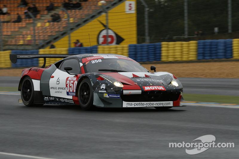 #350 Team Duqueine 法拉利 458 Italia: Gilles Duqueine, Philippe Colancon