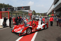 The Rebellion R-One presented in its livery