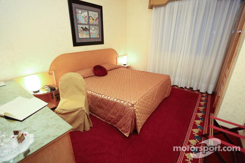 Hotel Castello Suite 200, where Ayrton Senna stayed in his last night
