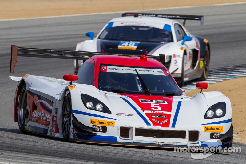 #5 Action Express Racing Corvette DP: Joao Barbosa, Christian Fittipaldi