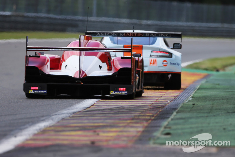 #12 Rebellion Racing Rebellion R-One - Toyota: Nicolas Prost, Mathias Beche, Nick Heidfeld