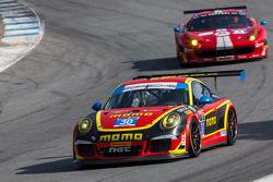 #30 MOMO/NGT Motorsport Porsche 911 GT America: Henrique Cisneros, Kuba Giermaziak