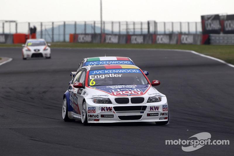 Franz Engstler, BMW 320 TC, Liqui Moly Team Engstler e Pasquale Di Sabatino, BMW 320 TC, Liqui Moly