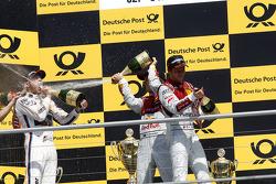 Podium, 1st Marco Wittmann, BMW Team RMG BMW M4 DTM, 2nd Mattias Ekstroem, Audi Sport Team Abt Sportsline Audi RS 5 DTM