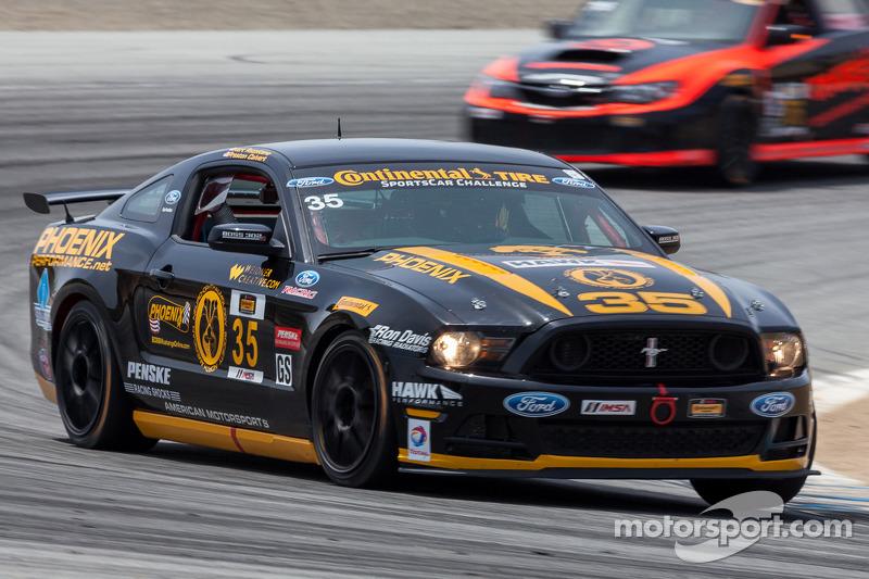 #35 Phoenix American Motorsports 野马 Boss 302R: 安德鲁·阿奎兰特, 库尔特·雷泽塔诺, 普雷斯顿·卡尔弗特