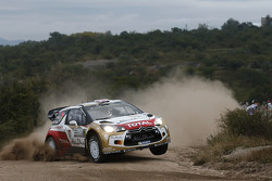Kris Meeke y Paul Nagle, Citroën DS3 WRC, Citroën Total Abu Dhabi World Rally Team