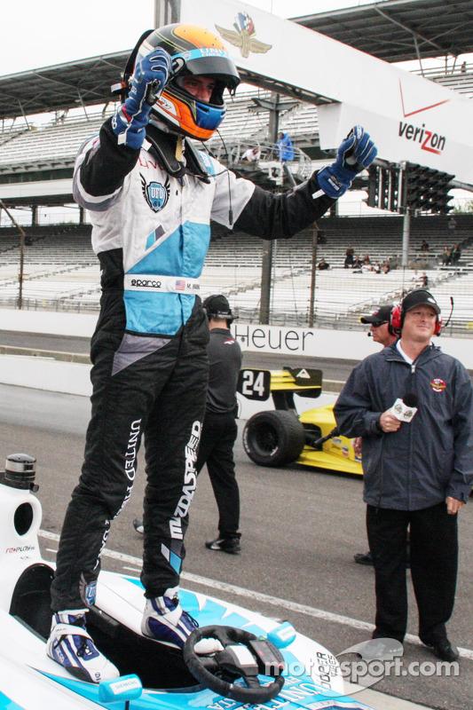 Ganador de la Carrera Mateo Brabham