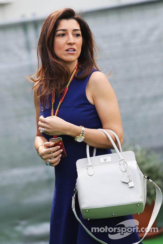 Fabiana Flosi, Ehefrau von Bernie Ecclestone