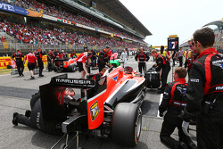 Startaufstellung: Jules Bianchi, Marussia F1 Team MR03