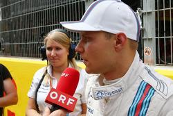 Startaufstellung: Valtteri Bottas, Williams