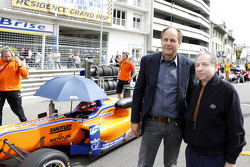 Gerhard Berger and Jean Todt, FIA president