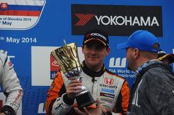 Third place Norbert Michelisz, Honda Civic WTCC, Zengo Motorsport