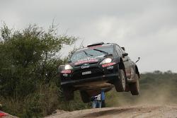 Nasser Al Attiyah and Giovanni Bernacchini, Ford Fiesta RRC