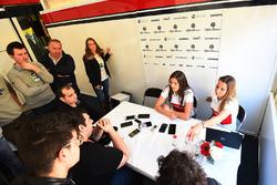 Татьяна Кальдерон, Alfa Romeo Sauber F1 Team Test Driver