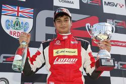 Race 3 winner Arjun Maini, Lanan Racing