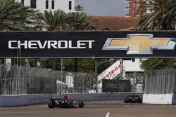 Matheus Leist, A.J. Foyt Enterprises Chevrolet, Jordan King, Ed Carpenter Racing Chevrolet