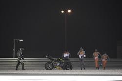Johann Zarco, Monster Yamaha Tech 3, after the crash