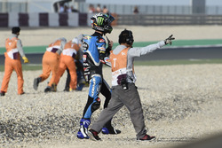 Alonso Lopez, Estrella Galicia 0,0 after the crash