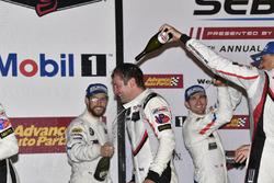 Ganador GTLM, Nick Tandy, Porsche Team North America