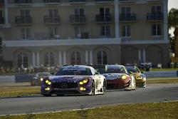 #75 SunEnergy1 Racing Mercedes AMG GT3, GTD: Mikael Grenier, Kenny Habul, Thomas Jäger
