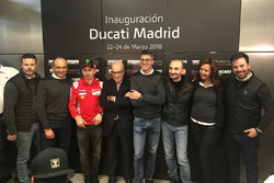 Presentación de la nueva tienda de Ducati en Madrid