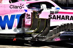 Force India VJM11 deflectors detail