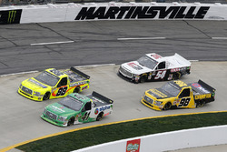 Ben Rhodes, ThorSport Racing, Ford F-150 Matt Crafton, ThorSport Racing, Ford F-150 Ideal Door/Menards Grant Enfinger, ThorSport Racing, Ford F-150 Champion Power Equipment/Curb Records Kyle Benjamin, DGR-Crosley, Toyota Tundra Crosley Brands/Tropicana