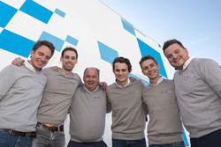 Frederic Vervisch, Nathanaël Berthon, Jean-Michel Baert, Aurelien Panis, Denis Dupont, Francois Verbist, Comtoyou Racing