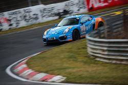 #444 Porsche Cayman: Norbert Fischer, Christian Konnerth, Daniel Zils
