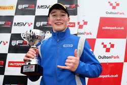 Podium: third place Billy Monger, Carlin