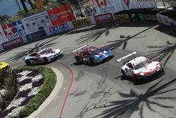 #911 Porsche Team North America Porsche 911 RSR, GTLM: Patrick Pilet, Nick Tandy, #67 Chip Ganassi Racing Ford GT, GTLM: Ryan Briscoe, Richard Westbrook, #24 BMW Team RLL BMW M8, GTLM: John Edwards, Jesse Krohn