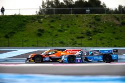 #4 Cool Racing by GPC Ligier JS P3 - Nissan: Alexandre Coigny, Iradj Alexander, Antonin Borga, #40 G-Drive Racing Oreca 07 - Gibson: James Allen, Enzo Guibbert, Jose Gutierrez