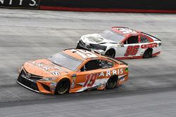 Daniel Suarez, Joe Gibbs Racing, Toyota Camry ARRIS and D J Kennington, Gaunt Brothers Racing, Toyota Camry, Gaunt Brothers Racing