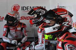 Mario Suryo Aji, Awhin Sanjaya dan Rheza Danica, Astra Honda Racing Team