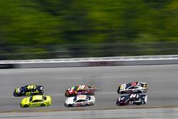 Jimmie Johnson, Hendrick Motorsports, Chevrolet Camaro Lowe's for Pros and Ryan Blaney, Team Penske, Ford Fusion Menards/Richmond
