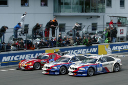 Race winners #2 BMW Team Schnitzer BMW M3 GTR: Boris Said, Duncan Huisman, Andy Priaulx, Pedro Lamy